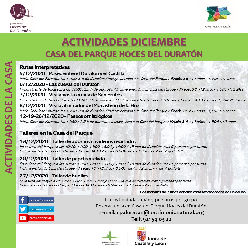 DECEMBER ACTIVITIES CP DURATON cited