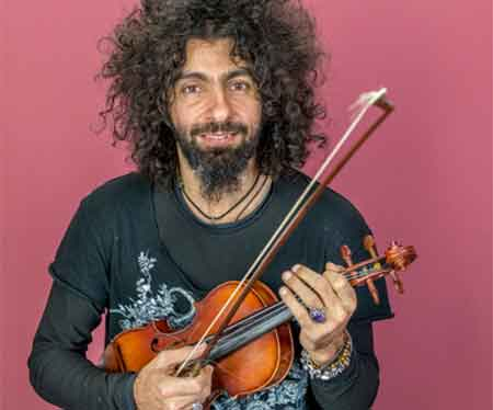 Ara Malikian, at La Granja Palace on August 6