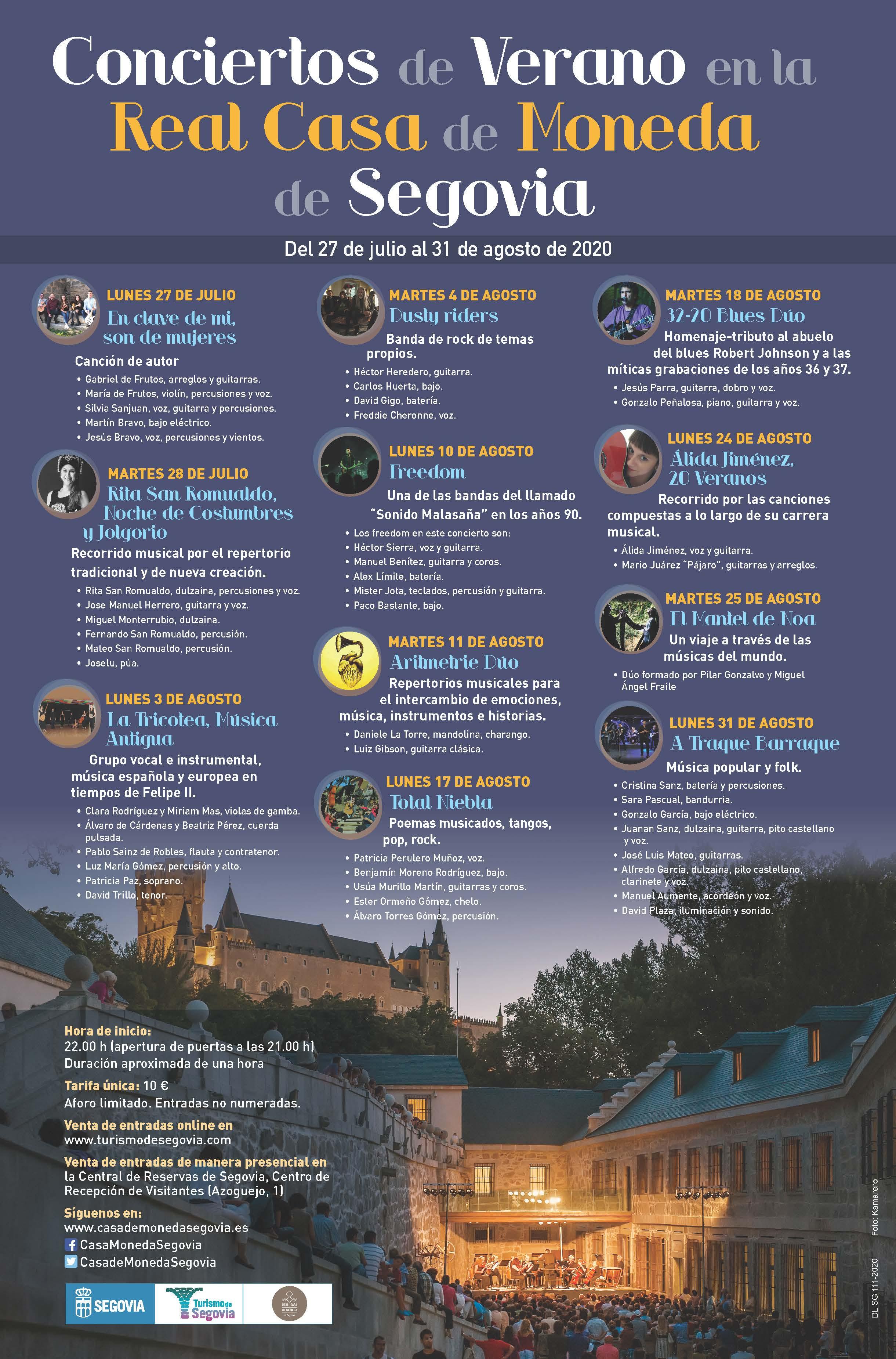 images 2020 07 13 Summer Concerts at Real Casa de Moneda cartel 1 3b17ee41
