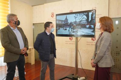 El Espinar presents three new tourism promotion videos based on bargemen, transhumance and sustainable forest exploitation at the Provincial Council