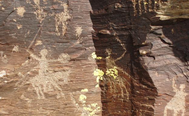 Gravures paléolithiques de Santa María la Real de Nieva