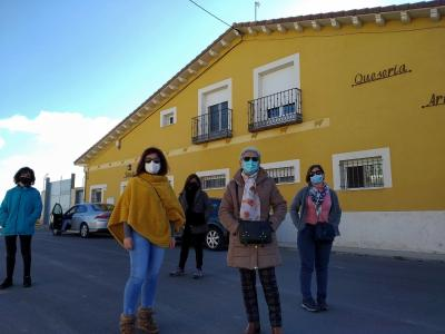 The monumentality of Turégano and Aguilafuente, the Villas de los Obispos, greeted the visit of the 'Traveler, I will teach you Segovia' program