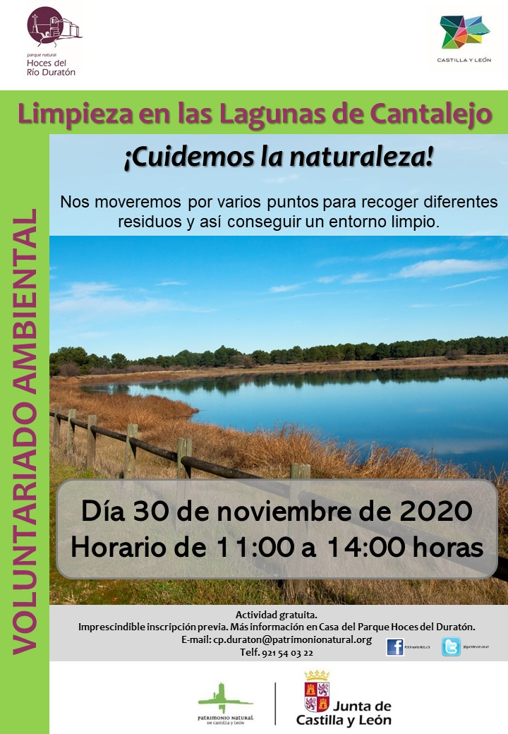 VOLUNTEER CLEANING LAGUNAS DE CANTALEJO