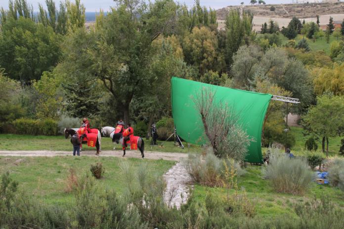 Filming Cuéllar