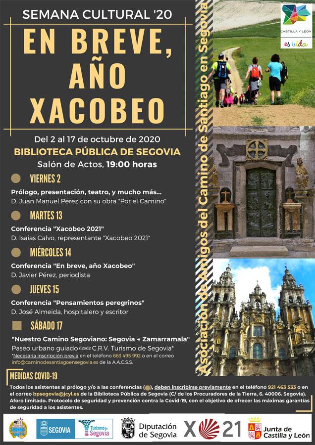 Camino Santiago Week 2020 poster w