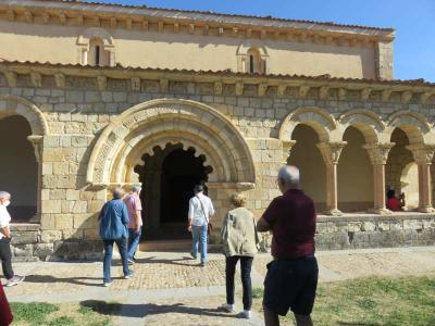 The program of guided visits of the Diputación 'Viajero, yo te teando Segovia' starts with a good reception