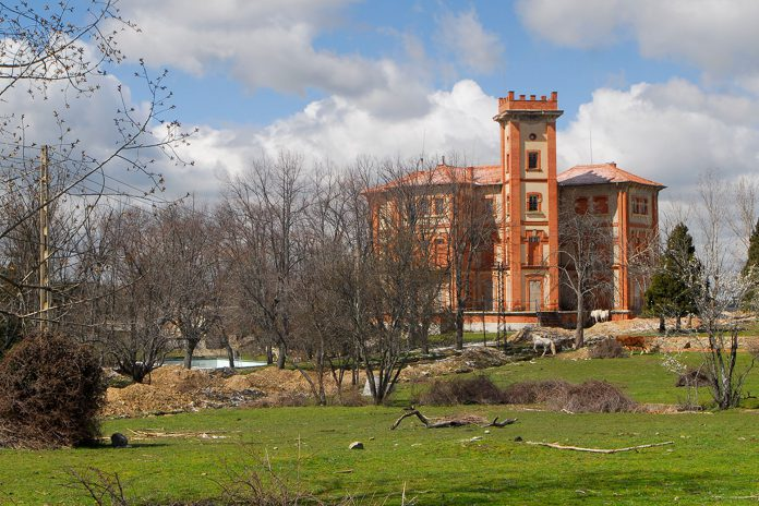 National Heritage recovers the surroundings of the Palace of Santa Cecilia