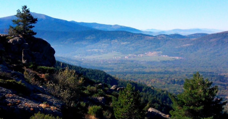 The Sierra de Madrid (before the Guadarrama)