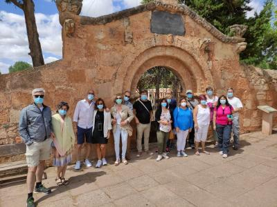 Riaza and Ayllón were the hosts of the fifth outing of the tourist calendar programmed by the Diputación 'Viajero, I will teach you Segovia'
