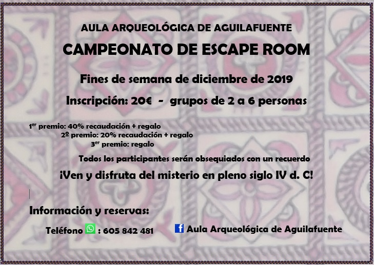 Campeonato de escape room