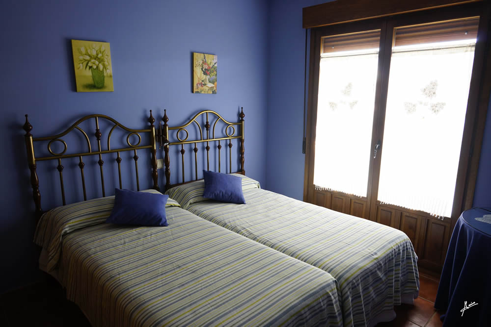 Salle Abbots doscamas bleu fincadelpozo