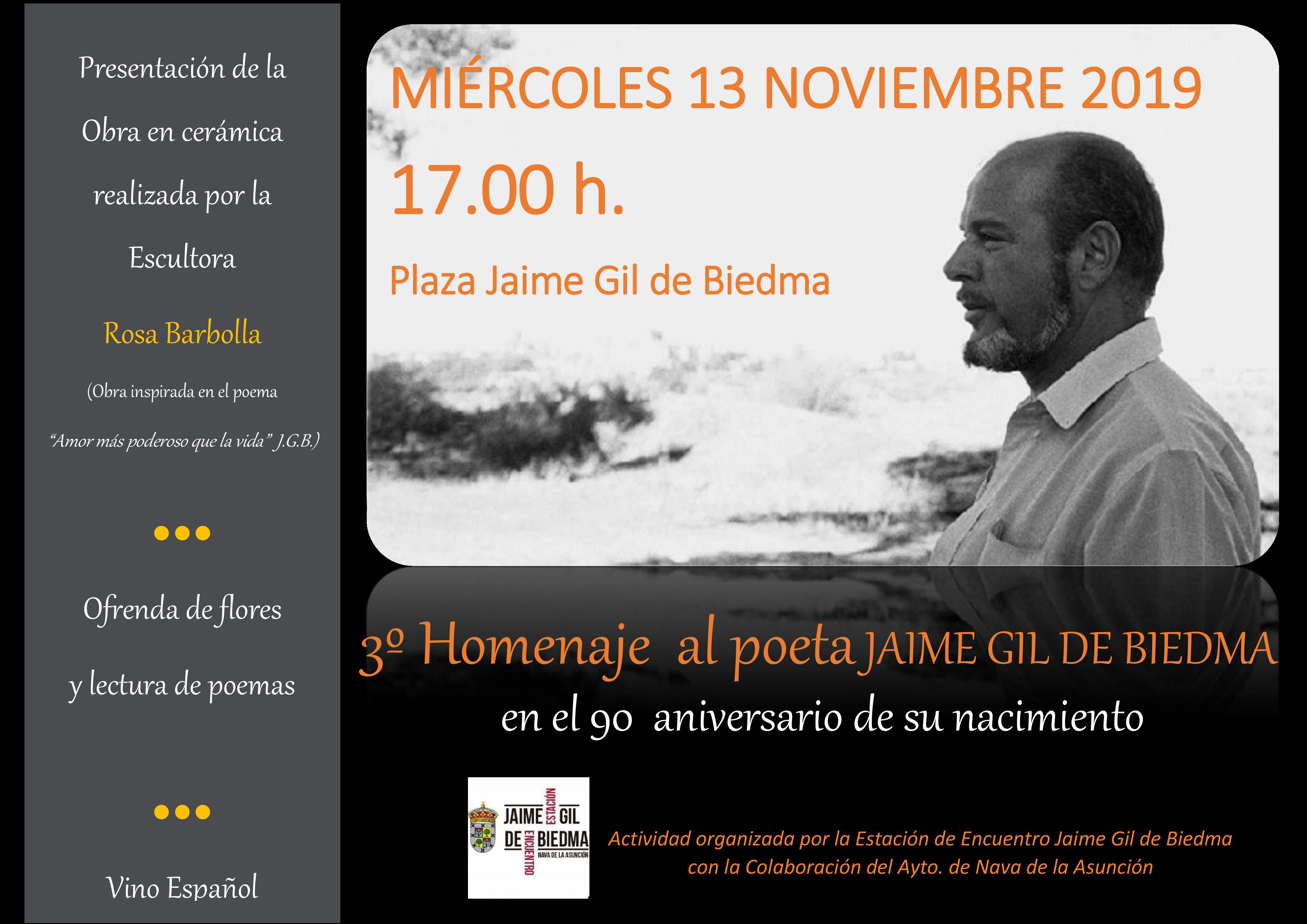 TRIBUTE TO JAIME GIL DE BIEDMA