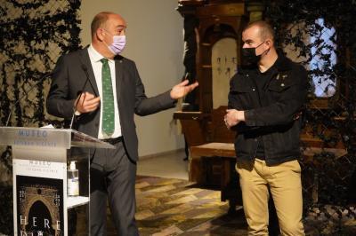 L'exposition `` Hereditas '' de Borondo reprend le `` pépinière d'art '' du musée Esteban Vicente parrainé par le Conseil provincial
