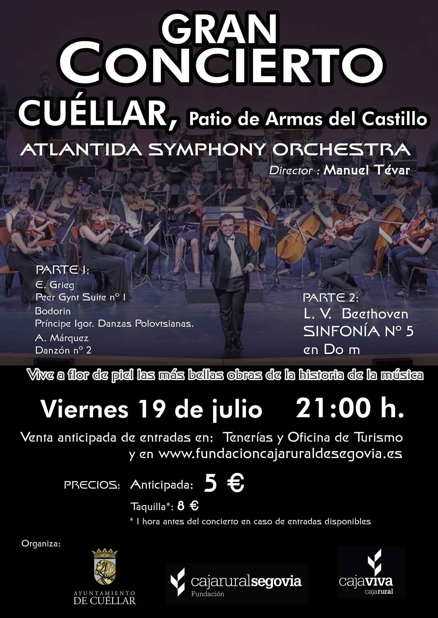 concert poster cuellar 2019