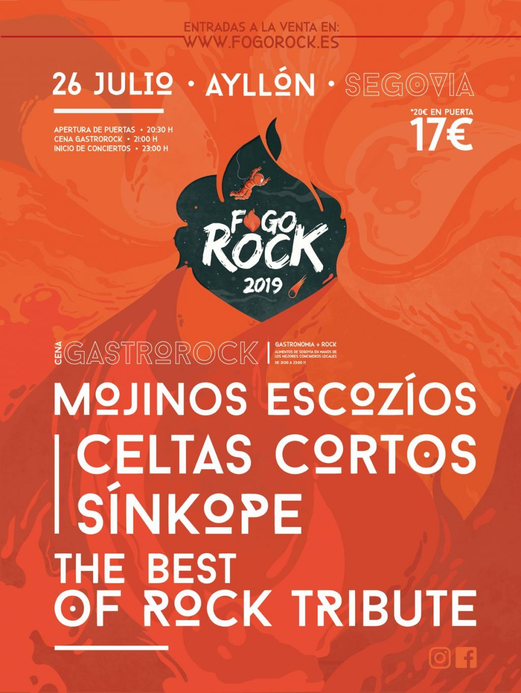 affiche de fogorock19