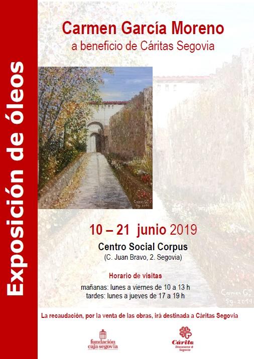 Carmen Garcia Caritas poster