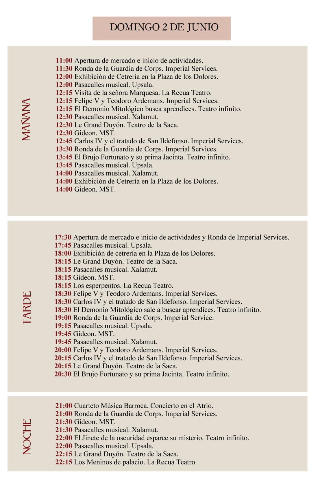 Programme d'intérieur baroque 3