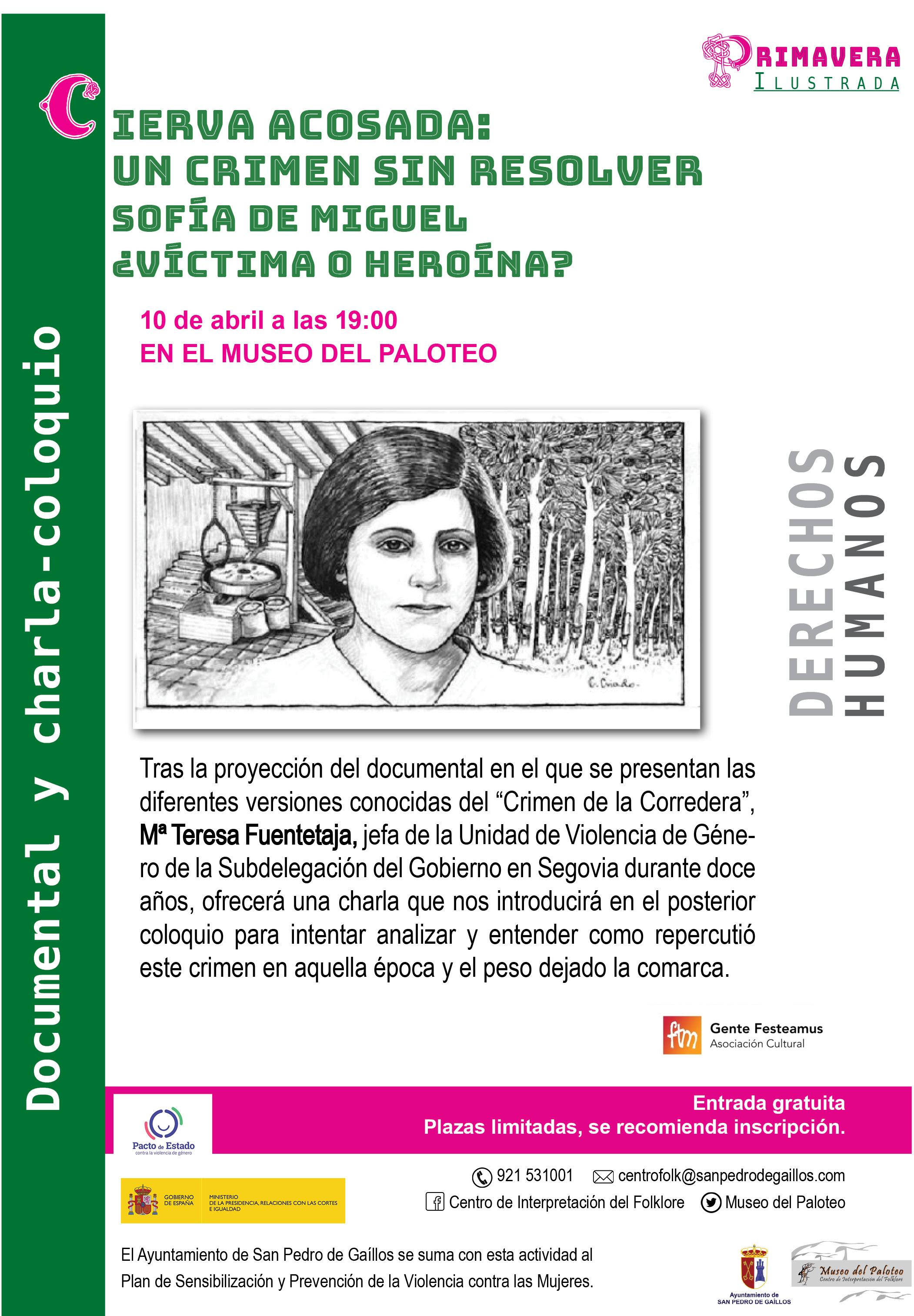 Documentaire et conférence: Acosada Cierva - Museo del Paloteo