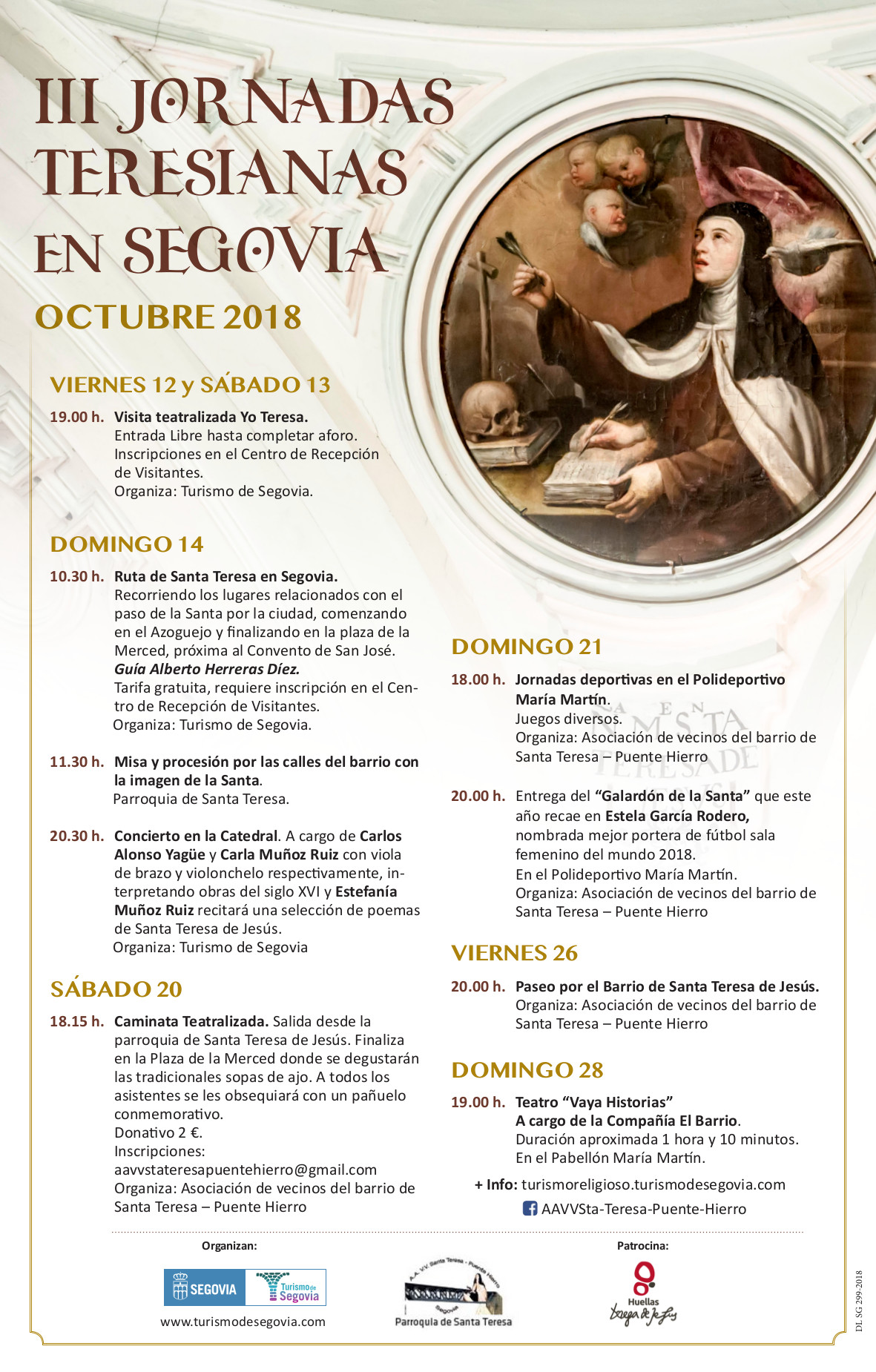 Jornadas Teresianas in Segovia