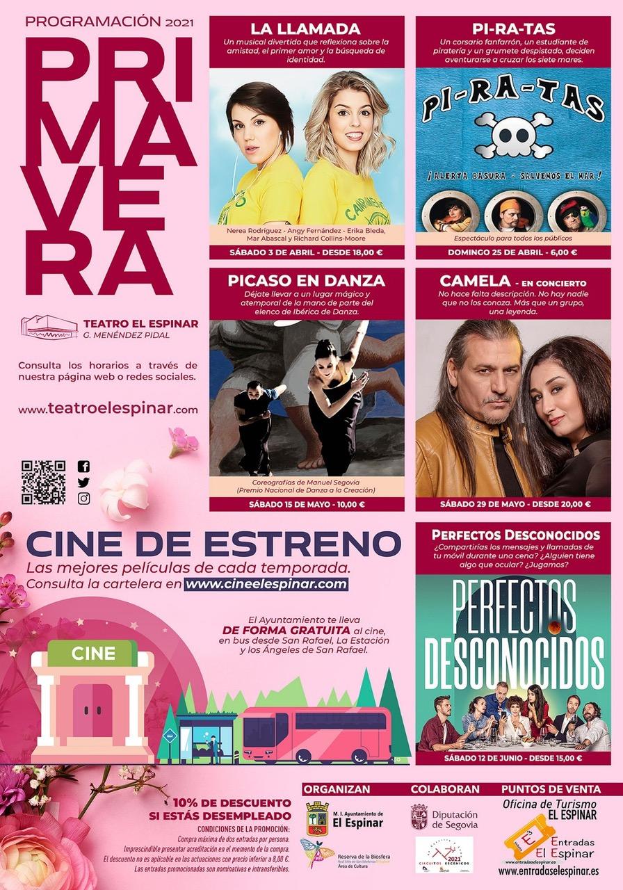 Spring Program - El Espinar Theater