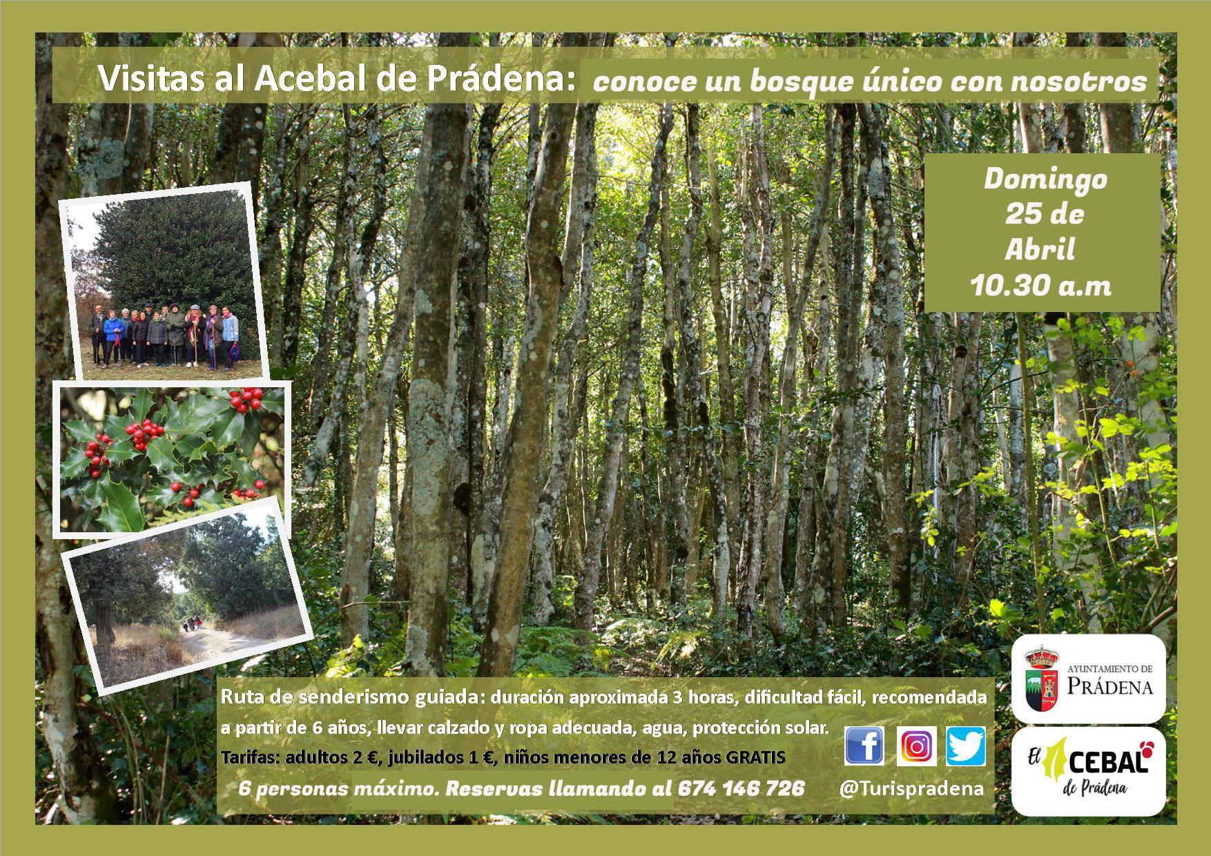 Visite à Acebal de Prádena - dimanche 25 avril