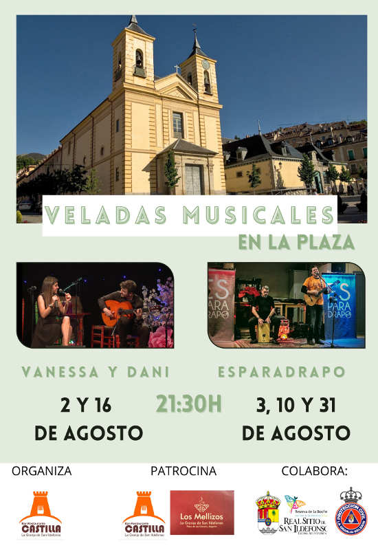 Musical evenings in the square - La Granja de San Ildefonso