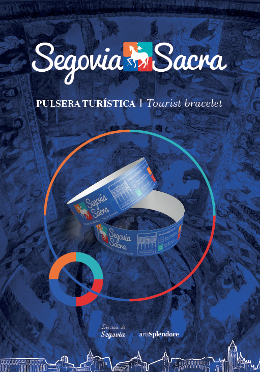 Segovia Sacra, tourist bracelet