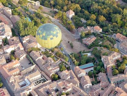 cirrus balloon rides segovia from the air 1