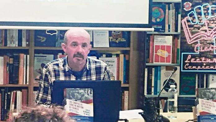 Carlos Hernández presents 'Franco's concentration camps'