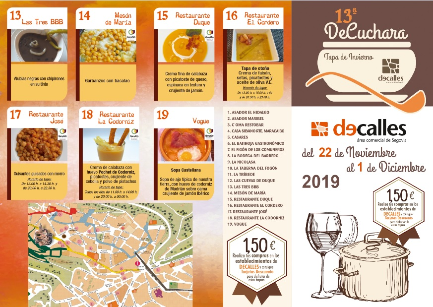 """Decalles celebrates the 13ª edition of the contest """"Decuchara"""" winter cover"""