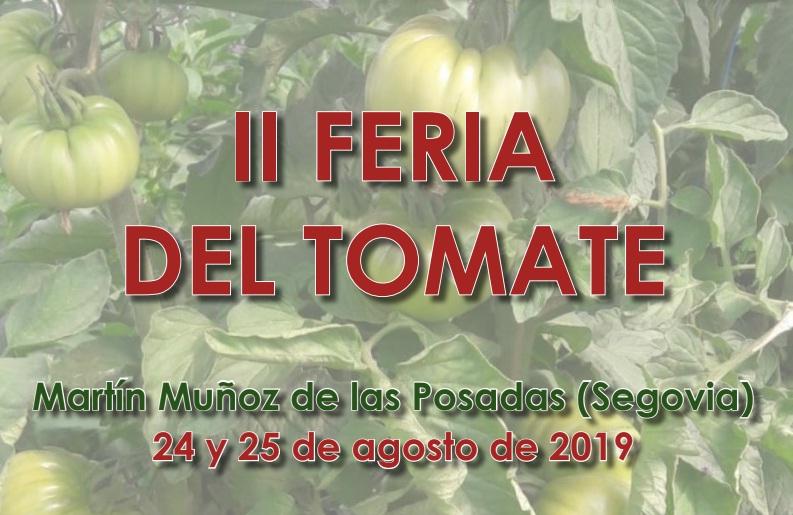 Celebration of the II Tomato Fair in Martín Muñoz de las Posadas