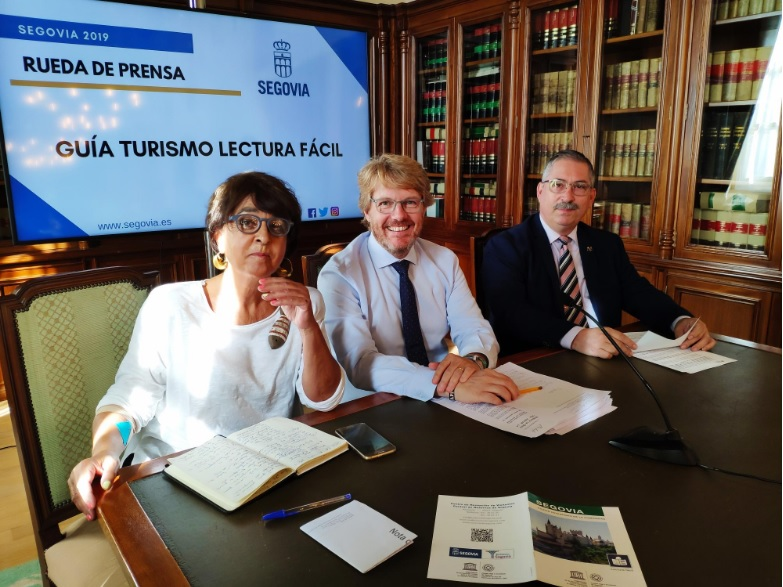 Segovia Tourism présente le guide de lecture facile pour visiter la ville