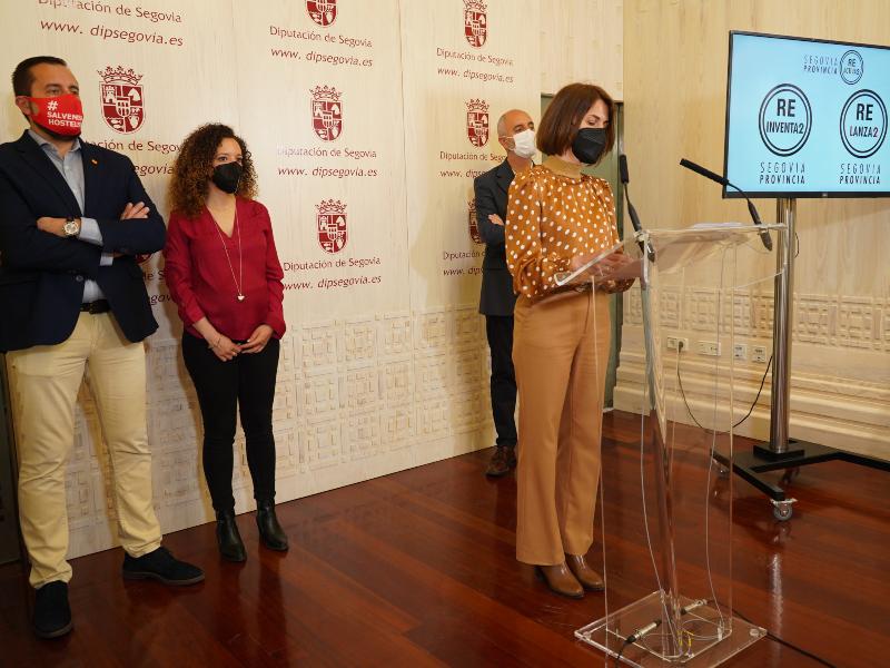 Le Conseil provincial contribue à hauteur de six millions et demi d'euros à son nouveau programme de relance socio-économique `` Segovia, Provincia Reactiva2 ''