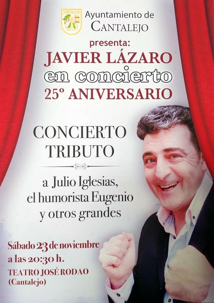 javier lazaro concert 23 nov