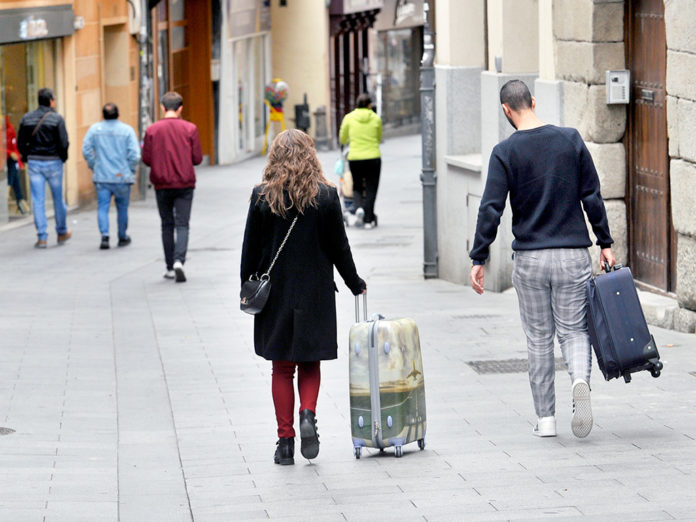 About 20.000 more people stayed at hotels in the capital
