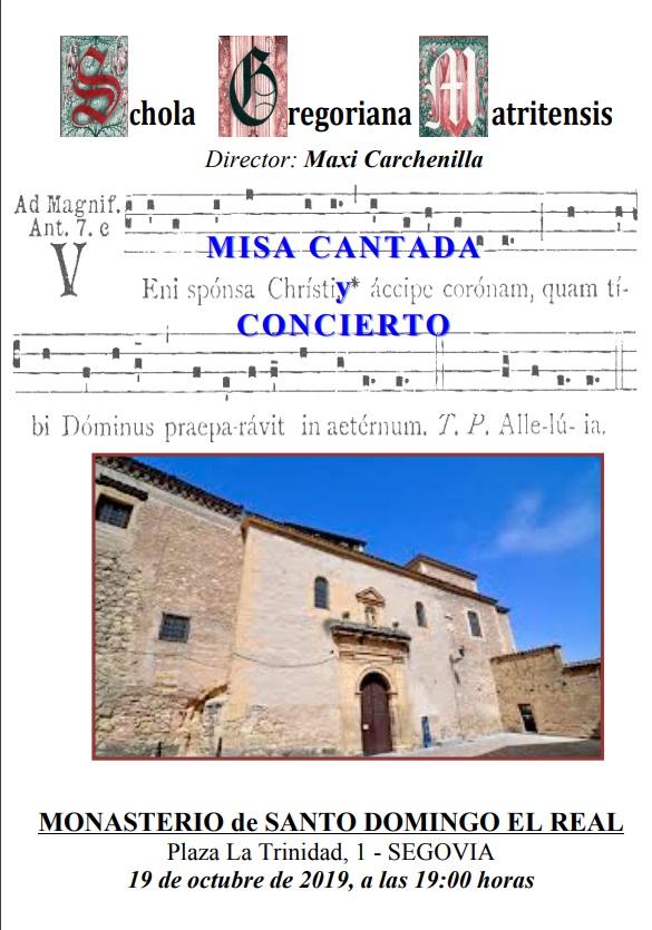 Mass sung