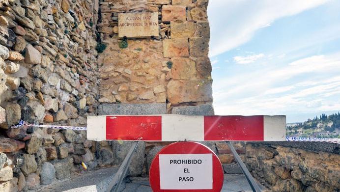 Accès restreint à El Postigo